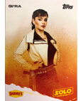 Qi'Ra A Star Wars Story Card Denny's Topps