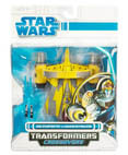 Jedi Starfighter to Anakin Skywalker - transformers (non-mint)