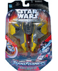 Anakin Skywalker Jedi Starfighter Transformers (non-mint)