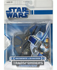 Jedi Starfighter to Obi-Wan Kenobi - transformers (non-mint)