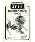 TIE Interceptor Vehicle Instructions