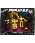 4 Piece Gift Set - Emperor, R2-D2, Luke, Darth Vader Bend-Ems