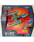 Star Wars Micro Machine Action Fleet Y-Wing Starfighter YellowV2