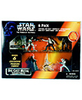 Star Wars Die Cast Metal 6 Pack Figures Power of the Force ver
