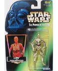 C-3PO - Power of the Force - Green Hologram