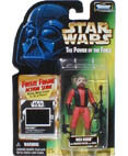 Nien Nunb with Blaster Pistol Power of the Force Freeze Frame
