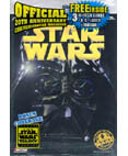 Star Wars Official 20th Anniversary Magazine with Trading Cards