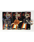 Star Wars Koosh - Episode I - Set of 3 (Watto, Kaadu, Sebulba