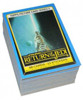 Return of the Jedi Trading Card Set of 88 (Blue Border)