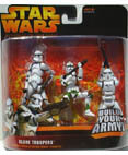 Clone Troopers - includes 3 different troopers - Green
