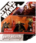 Unleashed Battle Pack - Jedi Masters (non-mint)