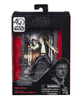 "Han Solo Titanium The Black Series 3.75"" (non-mint)"