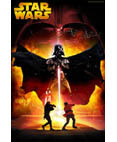 Darth Vader Lenticular Poster 12 inch by 18 inches