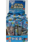 Star War Pez 24 count Display from 2002
