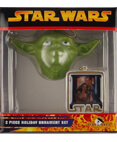 Yoda 2 Piece Holiday Ornament Set