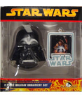 Darth Vader - 2 Piece Holiday Ornament Set