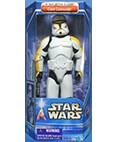 Clone Commander Trooper Yellow - Attack of the Clones - 12 inch