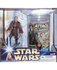 Anakin Skywalker Collectible figure and glass