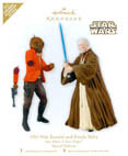 Hallmark: Celebration VI Exclusive Obi-Wan & Ponda Baba Hallmark