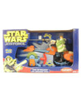 Luke Skywalker with Speeder Bike - Playskool Jedi Force