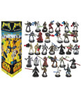 Attacktix Series 2 - Set of 30 Figures Plus Bonus 9 Silver base
