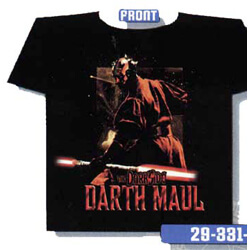 Darth Maul The Dark Side 2 sided T-Shirt - XL