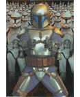 Attack of the Clones Silver Foil Card #10 - Jango Fett