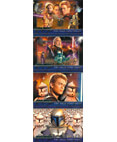 Attack of the Clones Promo Card P1, P2, P3, P4