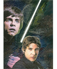 Star Wars Galaxy 4 - Etched Foil Card #3 of 6