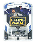 Star Wars The Clone Wars IndyCar Marco Andretti 1:64 scale