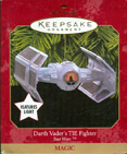Hallmark: Darth Vader's TIE Fighter Keepsake Ornament