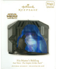 Hallmark: His Master's Bidding (ESB) Keepsake Ornaments