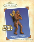 Hallmark: Chewbacca and C-3PO (ESB) Keepsake Ornaments