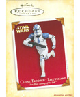 Hallmark: Clone Trooper Lieutenant Keepsake Ornaments