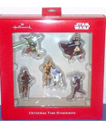 Star Wars Christmas Tree Ornaments Set of 5