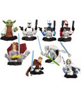 Star Wars Bust-Ups Series 7 - Clone Wars - set of 6