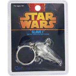 Star Wars Slave I Metal Replica Keychain