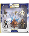 Star Wars Attack of the Clones Jedi Warriors Multipack (4 Figs)
