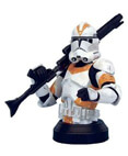 Clone Trooper Deluxe Collectible Bust Orange Version ROTS