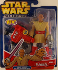 Jedi Force Figure Mace Windu with Jedi Grappling Hook Playskool
