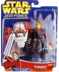 Jedi Force Figure Luke Skywalker with Jedi Jet pack - Playskool