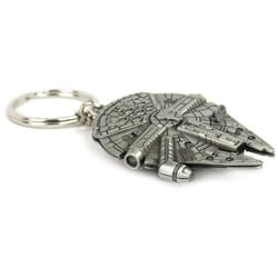 Star Wars Millennium Falcon Metal Replica Keychain