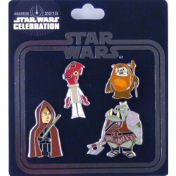Return of the Jedi Pin Set of 4 - Star Wars Celebration Anaheim