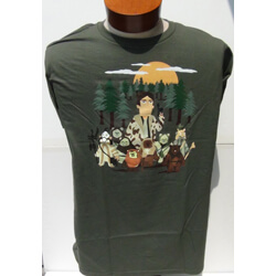 Star Wars Celebration Han Solo Endor T-Shirt (Large)