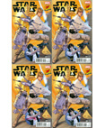 Marvel Star Wars #1 Dynamic Forces Exclusive Set of 4 Signed