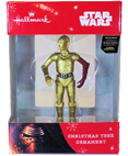 Hallmark: C-3PO Star Wars The Force Awakens Christmas Ornament