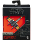 Poe's X-Wing Fighter #12 - The Black Series Titanium