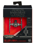 First Order TIE Fighter #13 - The Black Series Titanium