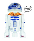 R2D2 Talking Cookie Jar with R2D2 trademark beeping sounds