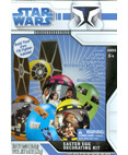 Easter Egg Decorating Kit - Build Your Own TIE Fighter Vehicle!